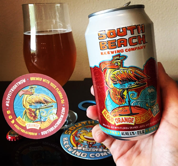 South Beach Brewing Sunset IPA